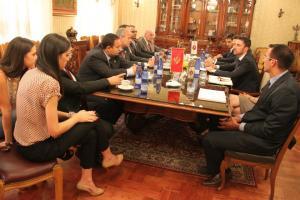 Delegacija Evropske jevrejske zajednice i Evropskog jevrejskog parlamenta u posjeti Cetinju