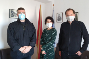 Dr František Šistek i doc. dr Boban Batrićević posjetili Jevrejsku zajednicu Crne Gore
