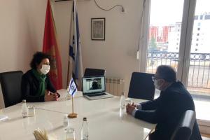 Nj. E. gospodin Kristijan Timonije posjetio Jevrejsku zajednicu Crne Gore