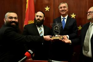 Predsjednik Jevrejske zajednice Crne Gore Đorđe Raičević i rabi Ari Edelkopf, boravili u Briselu na poziv predsjednika Evropske jevrejske asocijacije rabi Menahema Margolina,