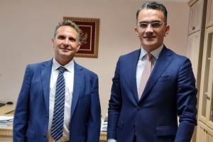 Ofir Revah, predstavnik Evropskog jevrejskog kongresa, razgovarao sa ministrom pravde ljudskih i manjinskih prava gospodinom Vladimirom Leposavićem